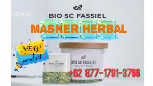 New Bio SC Fassiel, sebuah produk masker peel-off yang terbuat dari 4 bahan utama: daun willow, marine silt, minyak esensial pohon teh, dan mentol.