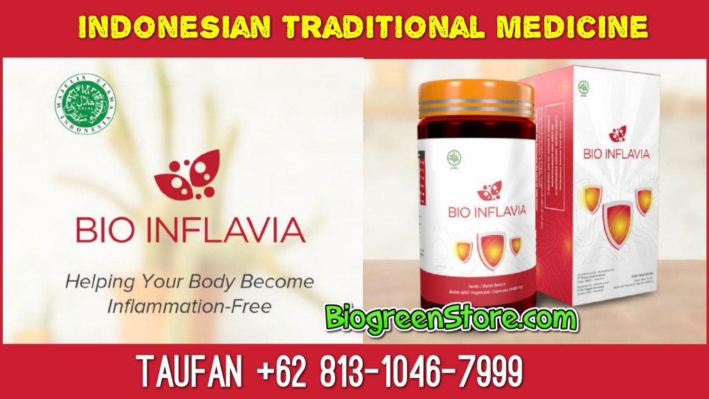 Bio Inflavia Indonesia Traditional Medicine