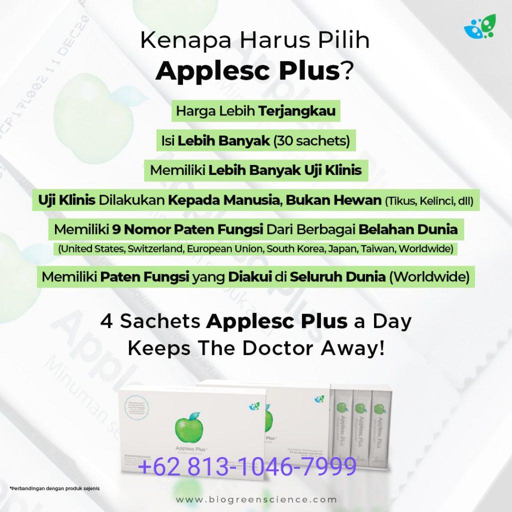 Kenapa harus pilih applesc plus biogreen