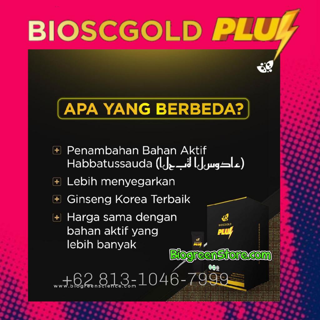 Herbal Kuat Pria Terbaik, Biogold pluz/Biogold Plus Biogreen