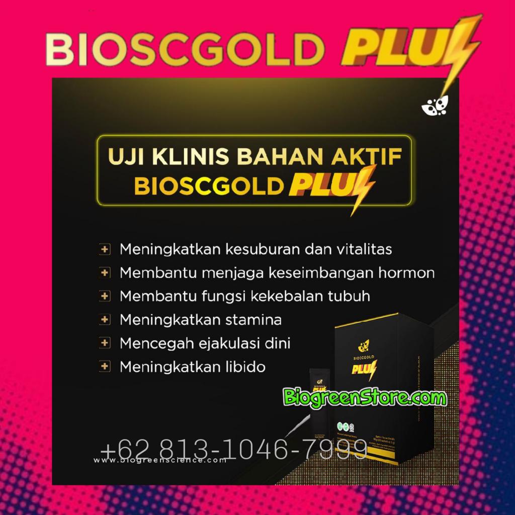 Manfaat Biogold Plus/ Biogold Pluz Biogreen, Obat Kuat Herbal Aman dan Ampuh