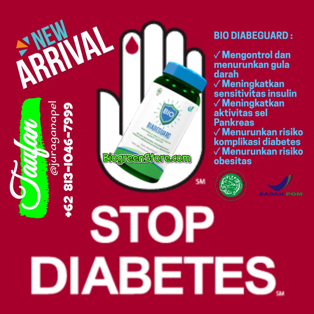 Bio diabeguard, Obat herbal diabetes biogreen