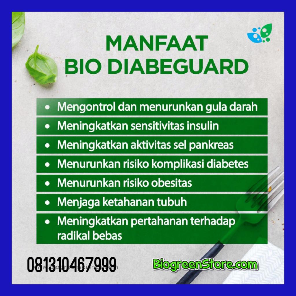 Manfaat Bio diabeguard, Obat herbal diabetes biogreen