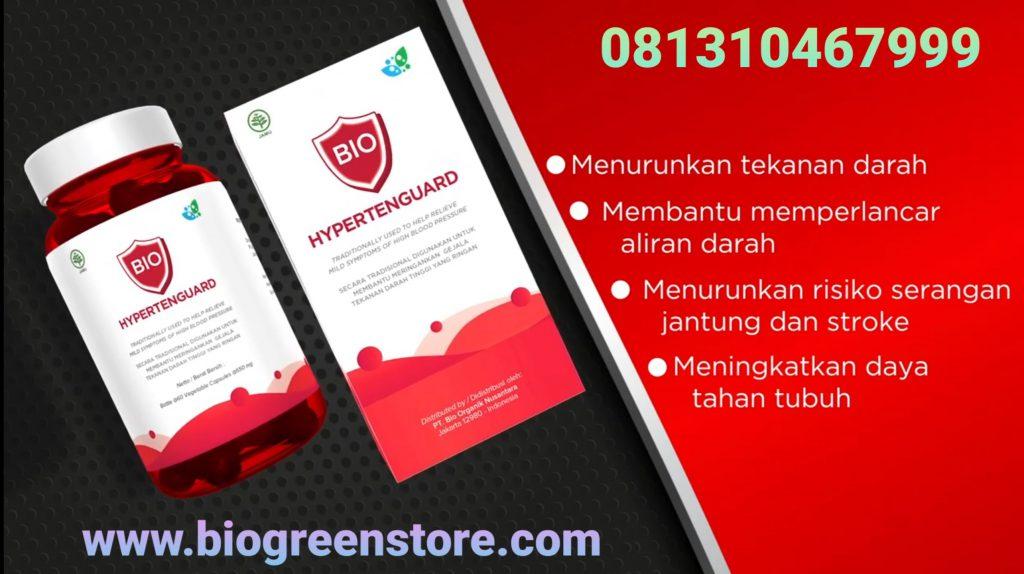 Bio hypertenguard biogreen obat herbal hipertensi darah tinggi